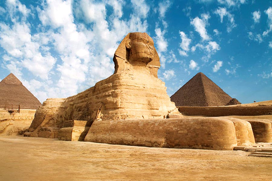 the archaeological sources on the creation of the ancient pyramids by the egyptians